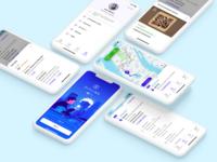 Zipline – Drivers App application ui design ios app mobile driver app driver delivery sameday geodis zipline