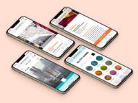 Louis Vuitton City Guide louis vuitton city guide luxury browser mobile web design ui