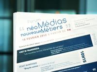 Forum Néo-Média Nouveaux Métiers