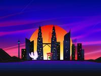 Rising Sun in Asia