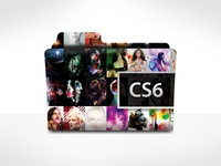 Adobe CS6 Mac OSX Folder Icon