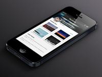 iOS App Portfolio Concept