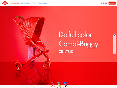 Oilily Retina ui webdesign development