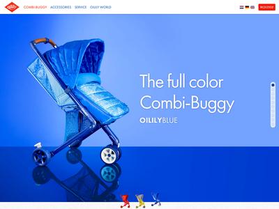 Oilily Buggy ui web webdesign development art direction