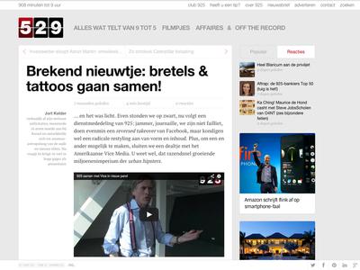 925 Article View 925 jort kelder webdesign frontend article development design vice