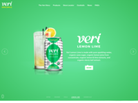 Veri Soda Lemon Lime