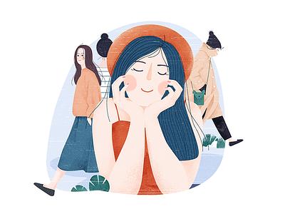 嗨,你好吗!(10)-Hi,how are you!(10) 插图,插画,橙子,柚子,网页 web yellow pink grapefruit illustrations,orange