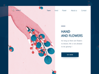 Hand  and flowers(1)