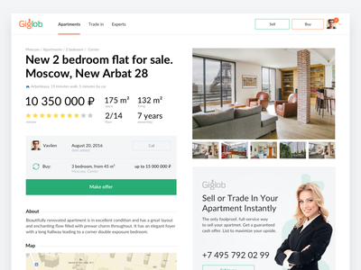 Giglob – Flat for sale