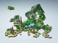 Europe - 3D Key visual