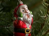 3d Christmas Decoration Santa Toy Dribbble