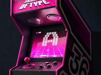 A - Arcade | 36daysoftype