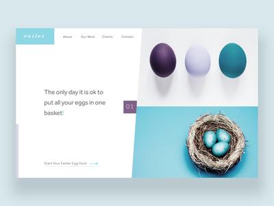 Happy Easter Ui Design Concept design inspiration design daily photography graphic designer graphic design ux ui ux design ui design web designer web design