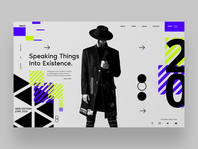 Speaking Things Into Existence Ui Design Concept design inspiration fashion photography ux design ui designer ui design graphic design graphic designer web designer web design