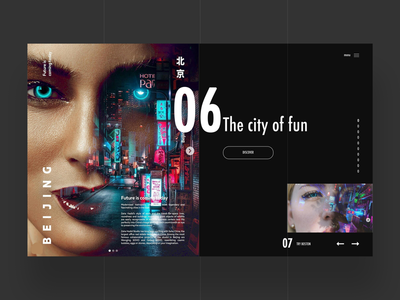 Choose Your City Web Design interface ux ui web ux design ui design graphic designer logo design web designer web design