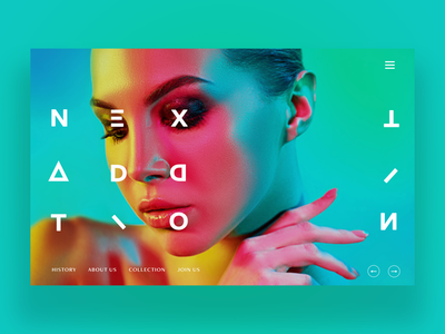 Next Addition Ui Design Concept design daily fashion photography ux ui graphic design ux design ui design web design