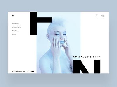 No Favourtism Ui Design Concept daily design uiux design inspiration ux ui photography graphic design ux design ui design web design