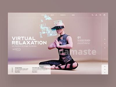 Virtual Reality Ui Design Concept design daily web designer design inspiration photography ux ui graphic design ux design ui design web design