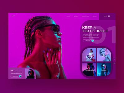 Keep A Tight Circle Ui Design Concept illustration design ux ui photography ux design ui design web design branding logo graphic design