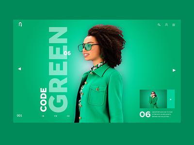 Code Green Ui Design Concept design inspiration daily design fashion uiux ux designer web designer website design ux ui photography graphic design ux design ui design web design