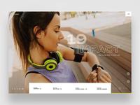 Impact (Web Ui Design)