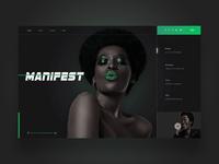 Manifest ui design concept