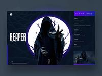 Reaper Ui Design Concept.