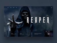Reaper Ui/Ux design concept