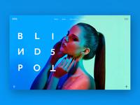 Blind spot (branding/Ui Design)