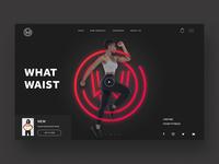What waist web Ui design