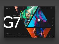 JG7 Ui Design Concept