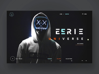 Eerie Universe Ui Design Concept