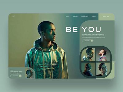 Be You Ui Design Concept