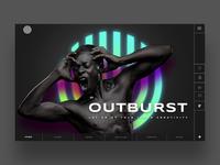 Outburst Ui Design Concept