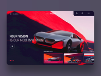 Next Vision Ui/Ux Design Concept