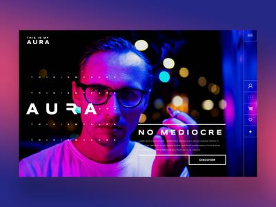 Aura 1.2 - No Mediocre Ui Design Concept