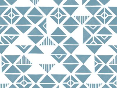 Woodblock Triangles