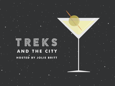 Artwork for new podcast Treks and the City!