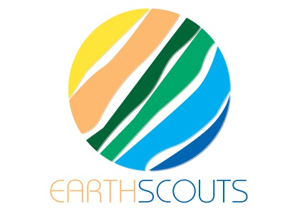 EarthScouts logo branding earth environment