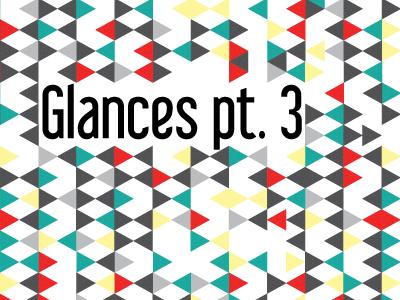 Glances Pt. 3 - Album Cover