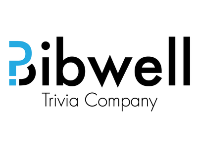Bibwell Logo logo mark brain trivia questions think