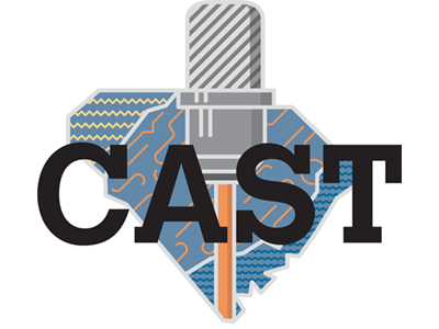 CAST Logo south carolina podcast storytelling
