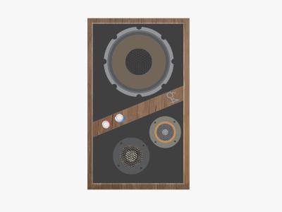 Speaker detail speaker music illustration texture wood