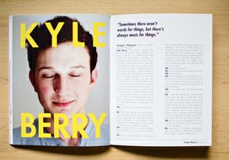 Strangers Magazine: Issue 2 design layout magazine print publication spread photography typography