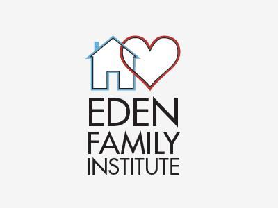 Eden Family Institue logo branding illustrator