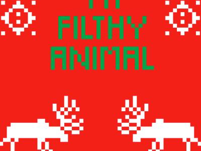 Holiday iPhone Background 2012 illustration 8bit 8-bit holiday christmas iphone wallpaper background