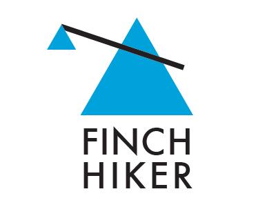 Finch Hiker logo branding illustrator restaurant futura