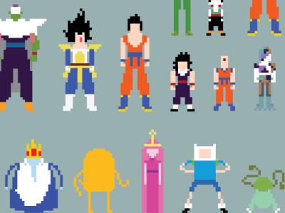 Choose Your Adventurer illustration 8-bit 8bit tv shows illustrator