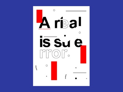 Poster collection poster design postereveryday arial helvetica experimental typography poster