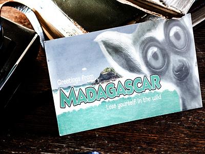 Visit Madagascar digital art graphic design design illustration